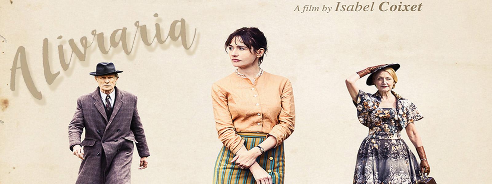 """Resultado de imagem para """"A Livraria"""", novo filme de Isabel Coixet"""