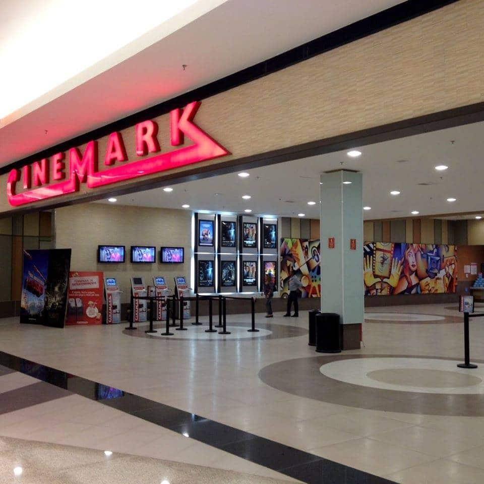 fachada do cinemark passeio das águas shopping de Goiânia