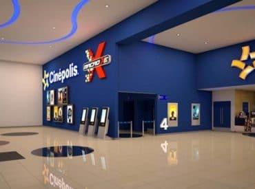 fachada do cinema