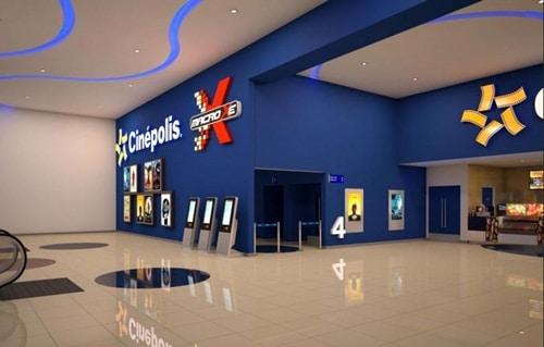 fachada do cinema cinépolis cerrado em Goiânia