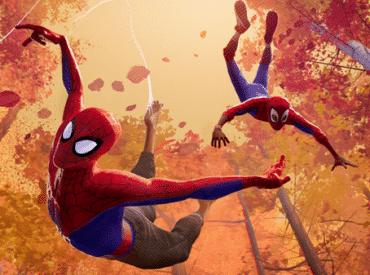 os dois homens aranha no aranhaverso