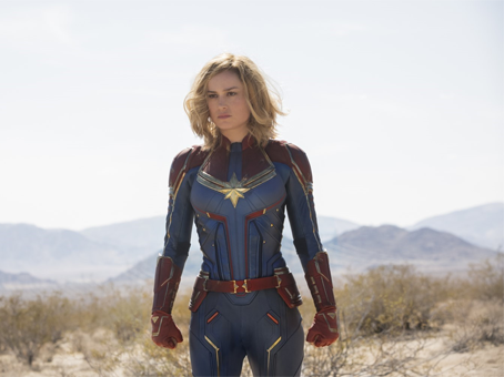 """foto divulgação do filme """"Capitã Marvel"""""""
