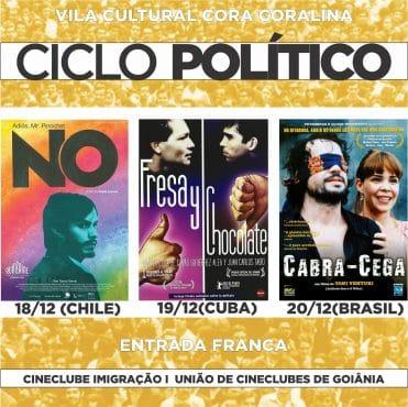 3º Ciclo de Cinema Política do Cineclube Imigração