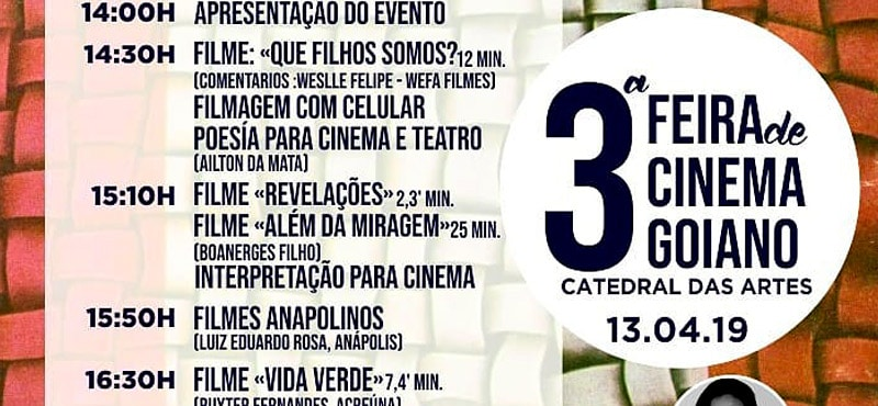 3ª Feira do Cinema Goiano