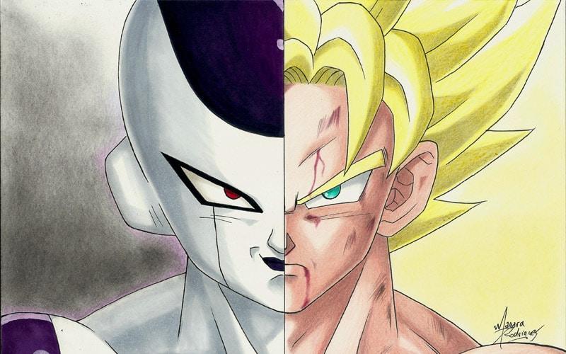 Freeza Goku