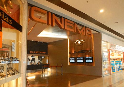 Fachada do Cinema Lumière Portal Sul