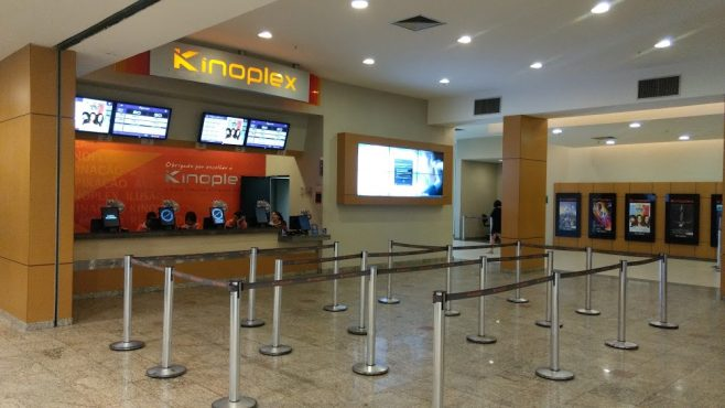 Fachada do cinema kinoplex - Goiânia Shopping