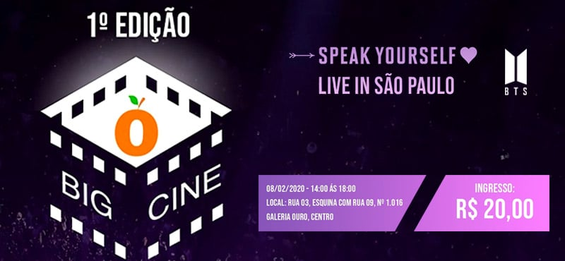 Big Cine - Speak Yourself - 1ª Edição